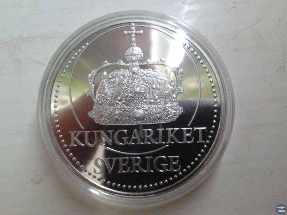 Kungariket Silver mynt. 1818 -2018