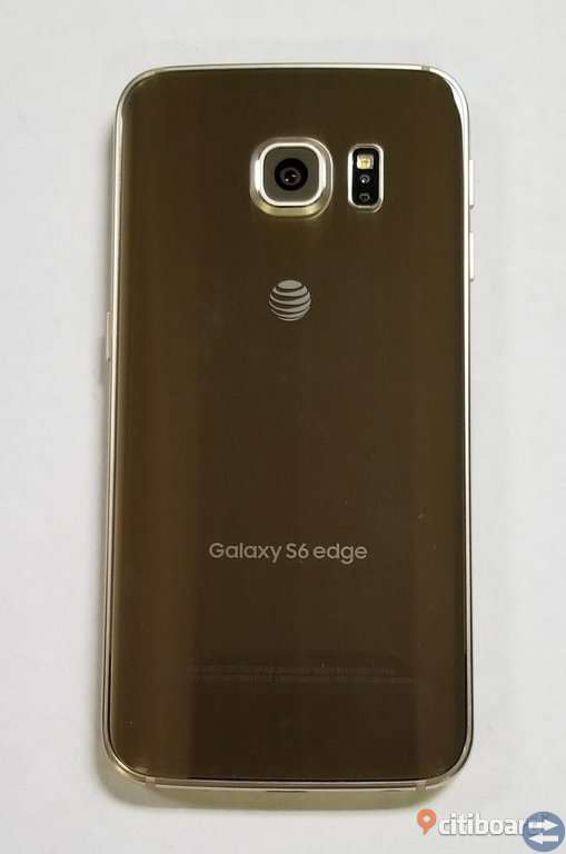 Samsung Galaxy S6 Edge bra skick ingen bunden telefon 32 GD guld