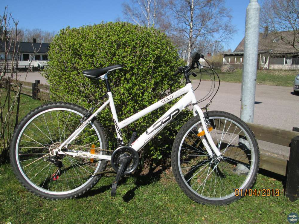 Hopfällbara cyklar.Äldre.2 st.Colorado Loop 1 st.