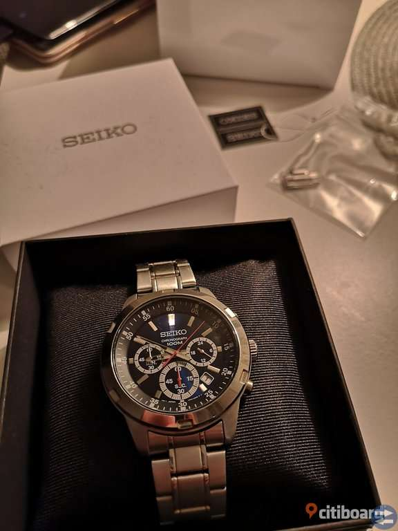 Seiko gent chronograph 44mm