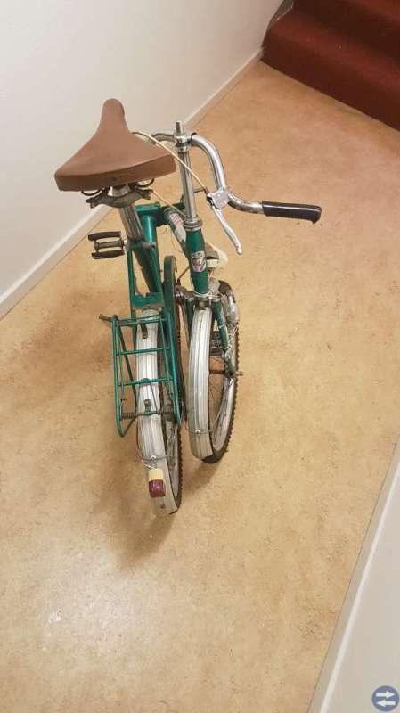 Ihopfällbar cykel, Eska