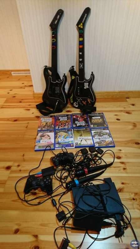 PS2 Spel och tilbehör