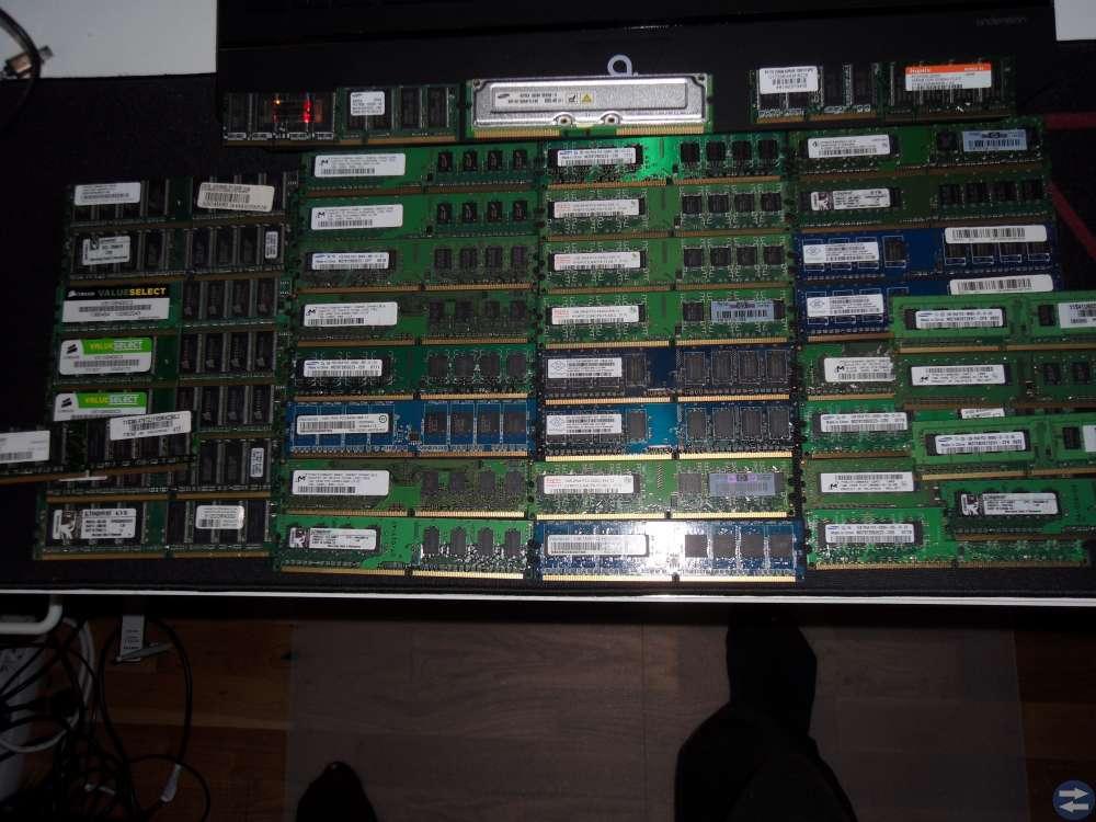 RAM minnen.Se bild