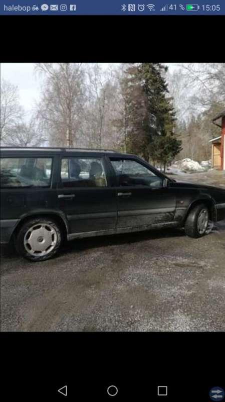 Volvo 855 skattad och besiktigad