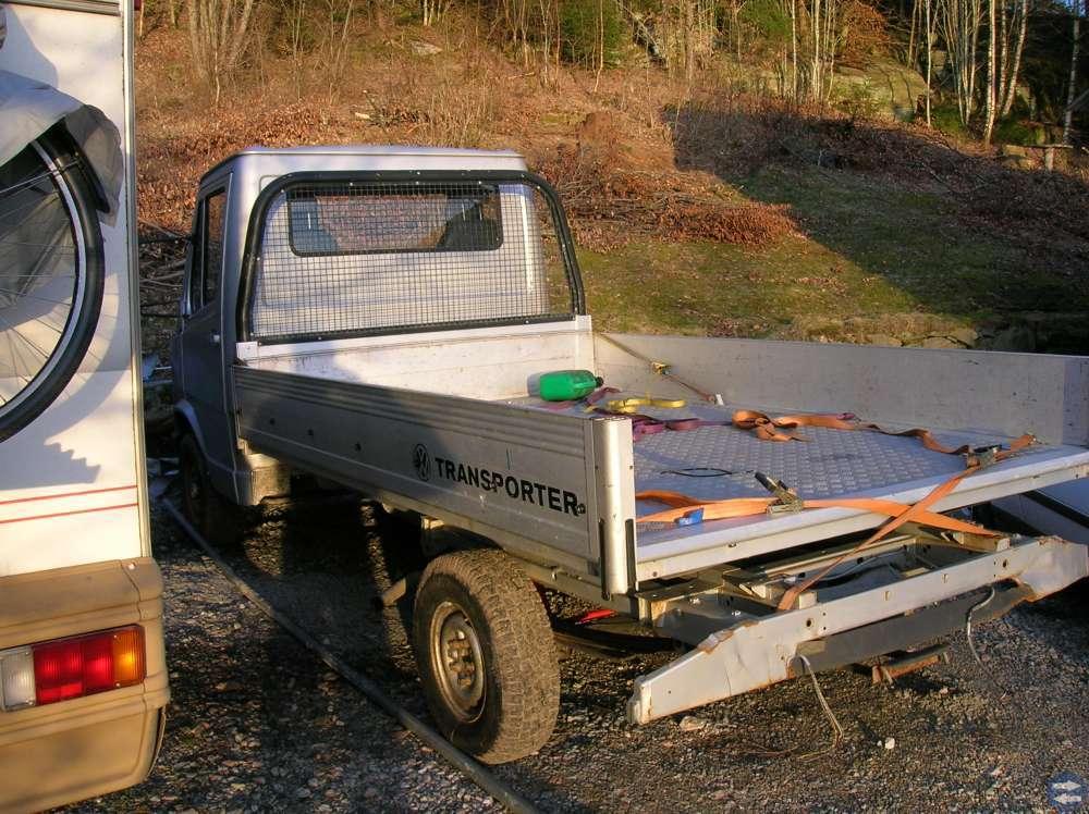 ALUMINIUMFLAK VW TRANSPORTER