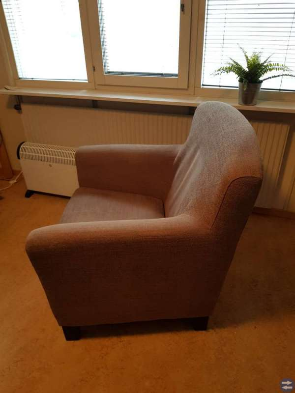 Ljusbrun Fåtölj, EKENÄS - IKEA