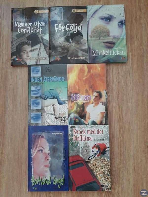 Massor med ungdomsböcker!