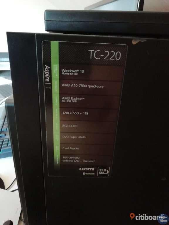 Acer tc220 stationär