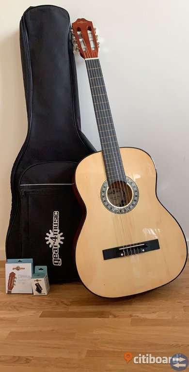 Klassisk Guitarr paket av Gear4musik -helt ny