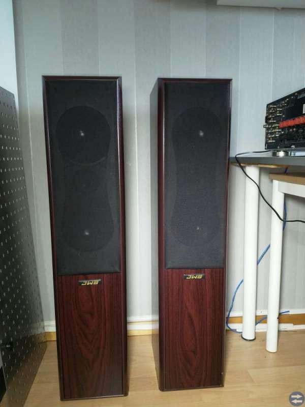 Pioneer förstärkare, CD-växlare, högtalare