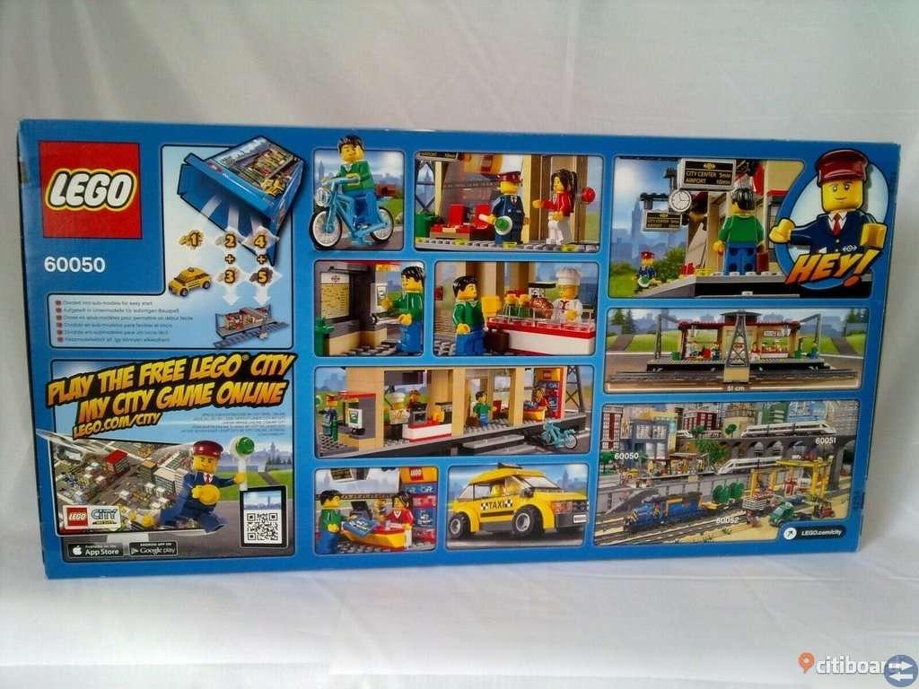 LEGO City Tåg Station (60050)