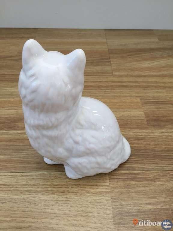 Katt - Guldkroken Keramik