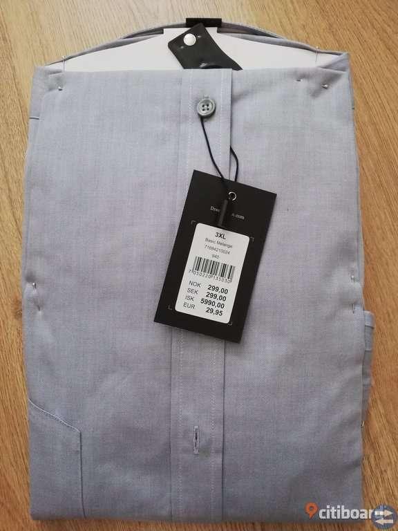 NY skjorta 47/48 3XL