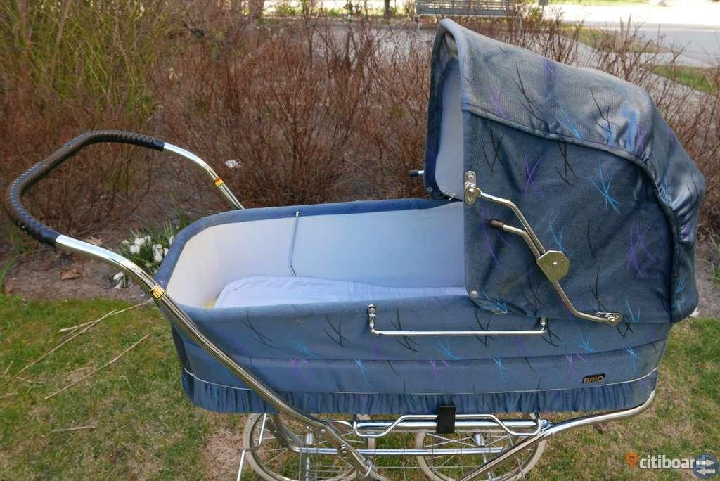 Barnvagn, klassisk, fräsch