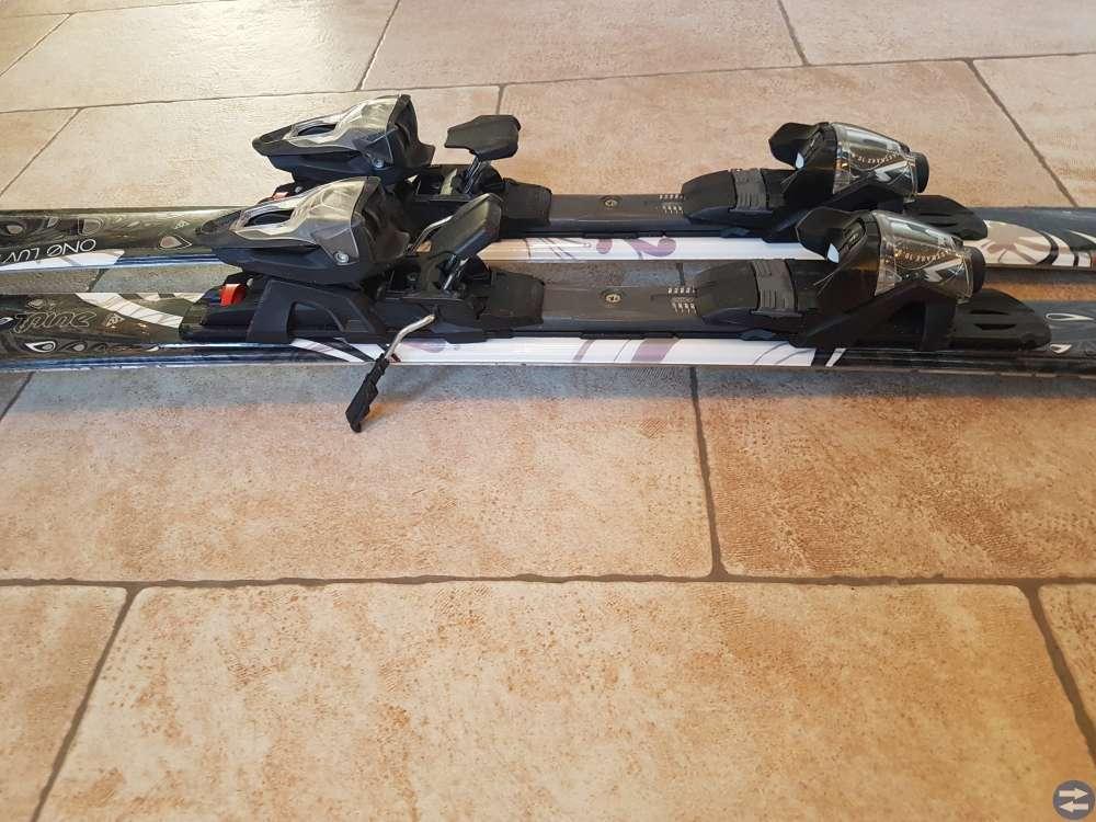 K2 pistskidor med bindningar