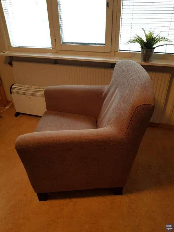 Ljusbrun Fåtölj - EKENÄS IKEA