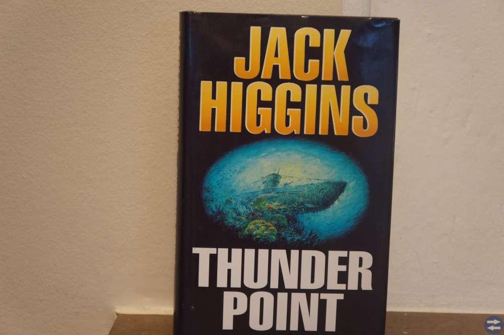 Thunder Point av Jack Higgins