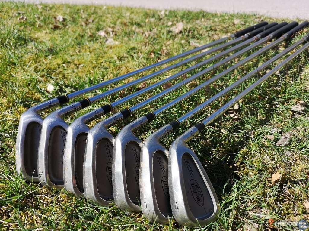 Golfset komplett plus järnklubbor