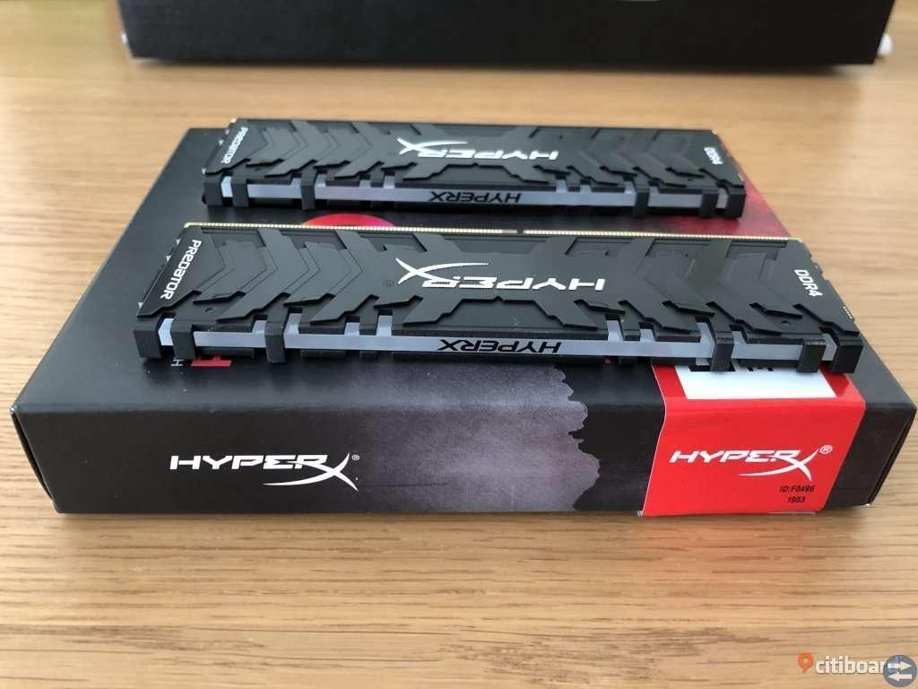 HyperX Predator RGB 2x8GB DDR4 3200MHz