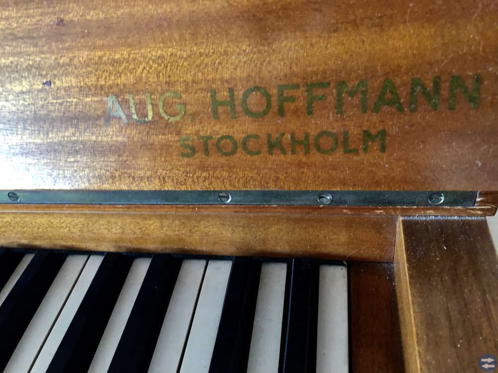 Aug. Hoffmann piano