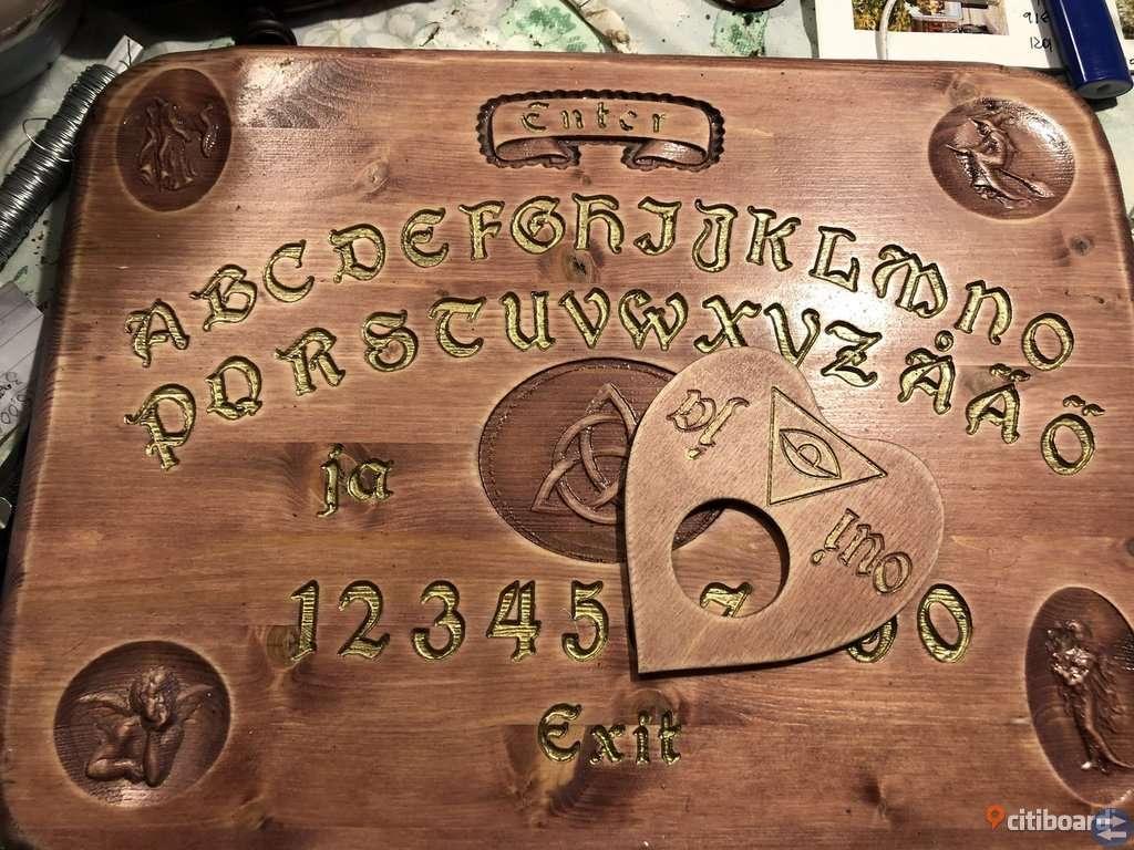Nytt handgjort ouijabräde