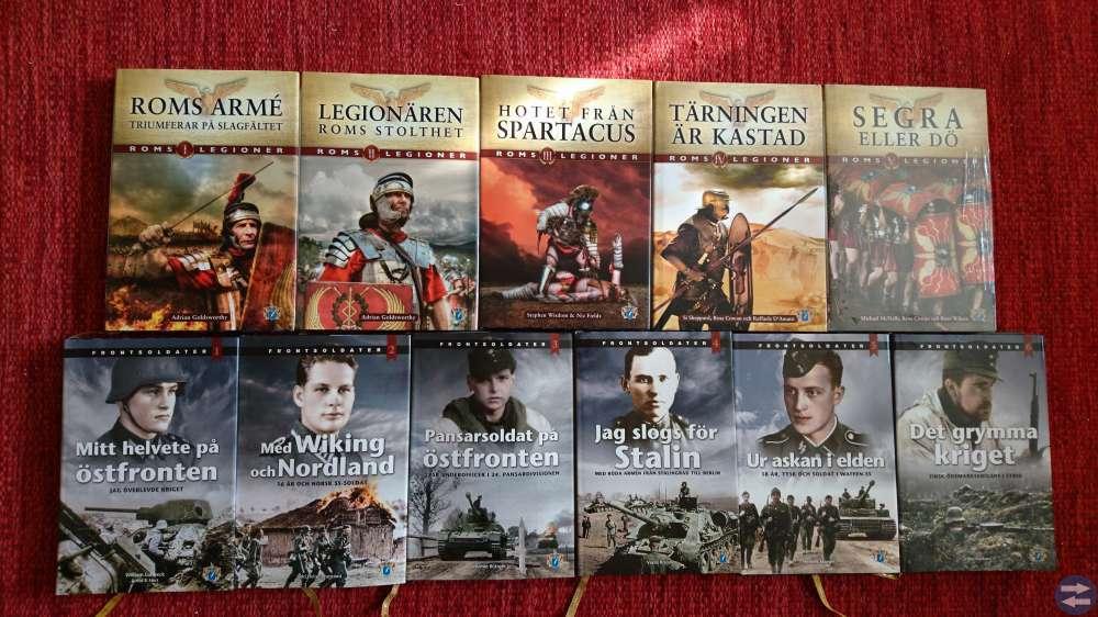 Böcker om militär historia