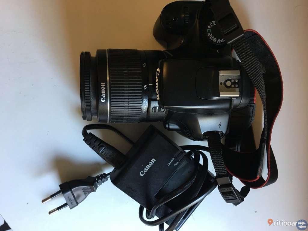 Canon EOS 1100D med 18-55mm objektiv