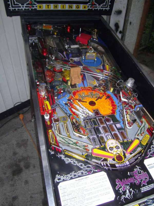 The Addams Family Flipper Pinball 1992