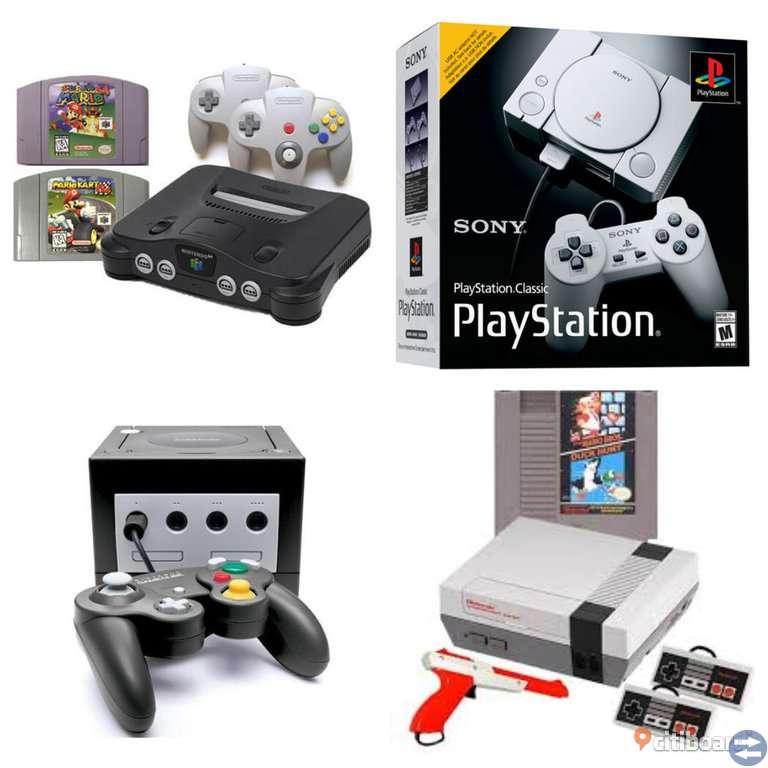 Gamla spel sökes - Nintendo, Playstation osv