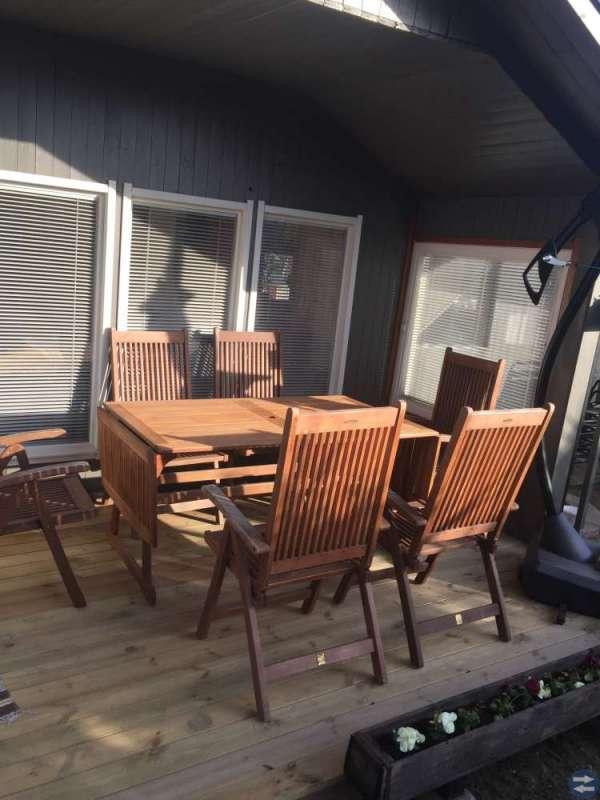 Burd och 6 stolar