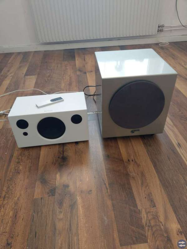 Audio pro högtalare med aktiv subwoofer 200 w