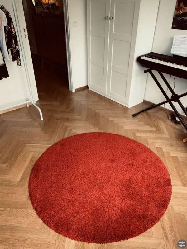 Matta (röd)