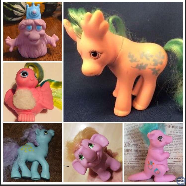 Köpes: Gamla My little pony hästar