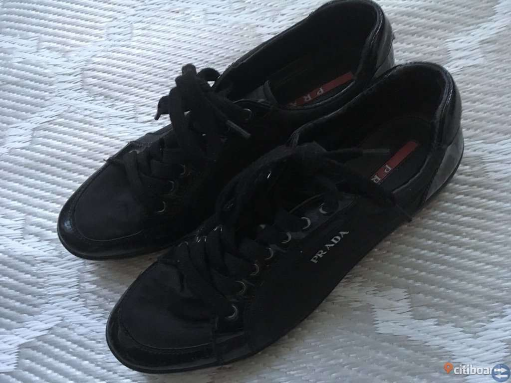 Prada skor Äkta märkesskor