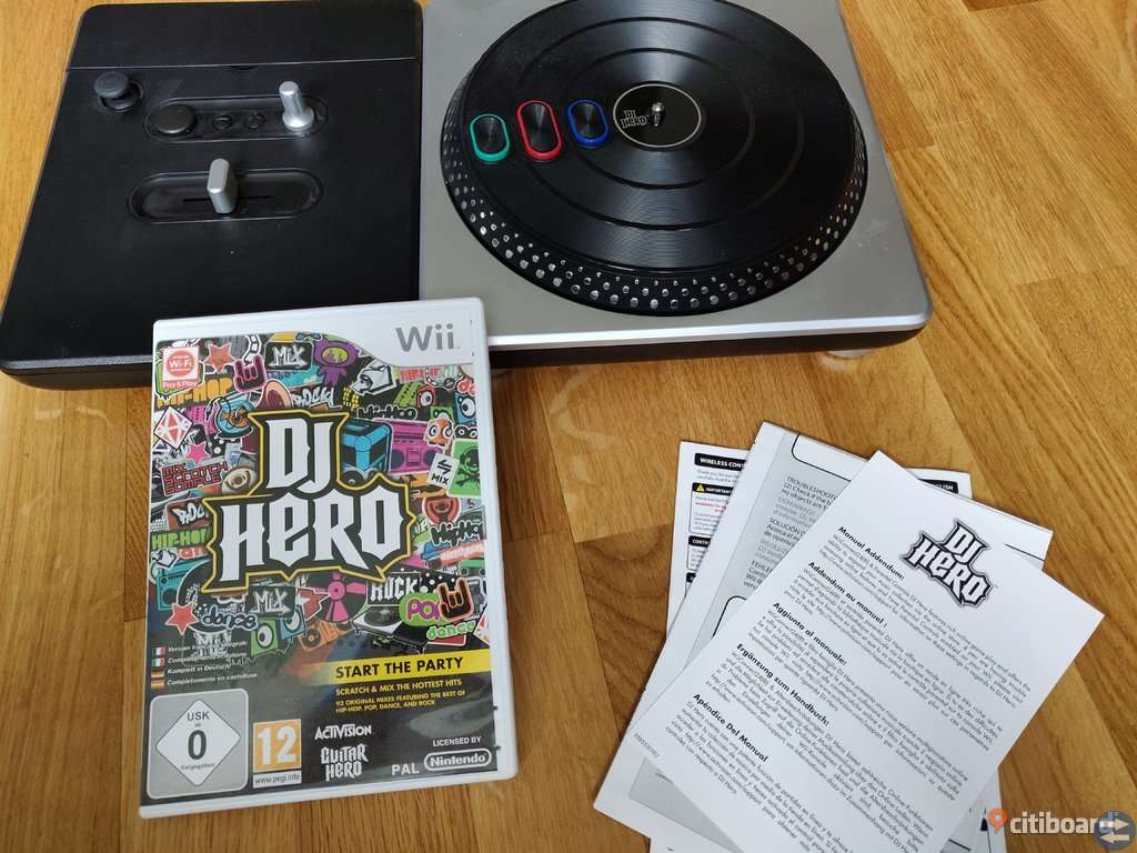 Dj Hero Wii