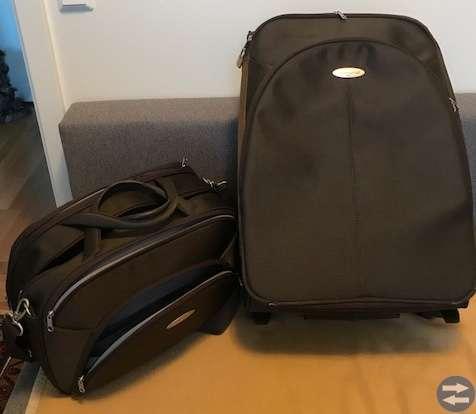 Samsonite resväska och handbagage