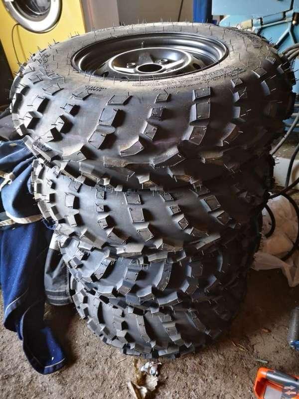 Hjul till 4-hjuling