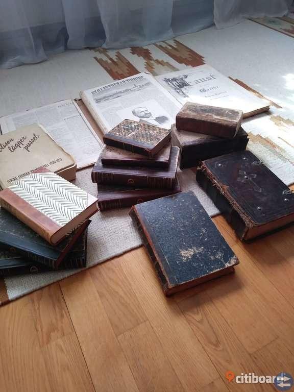 Antika gamla böcker