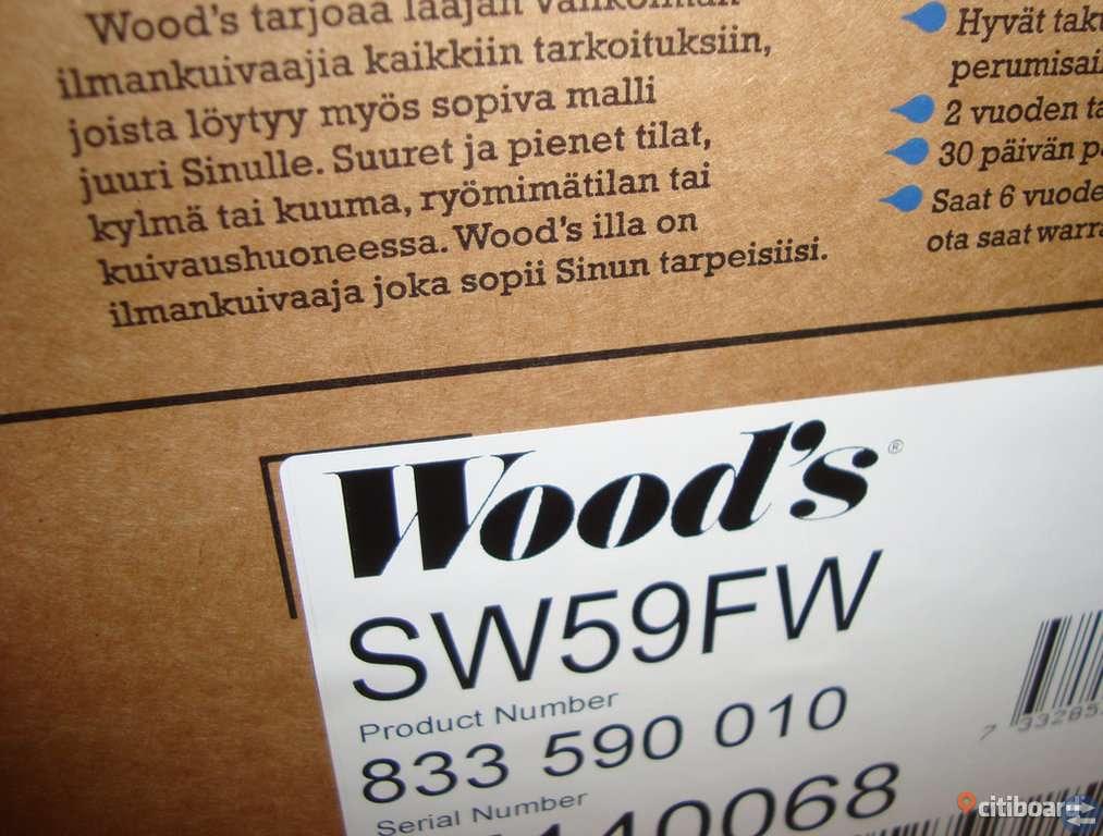 Avfuktare Woods SW59FW - Slumpas bort!