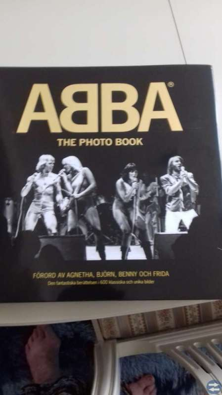 ABBA THE PHOTO BOOK    (MÅNGA BILDER)