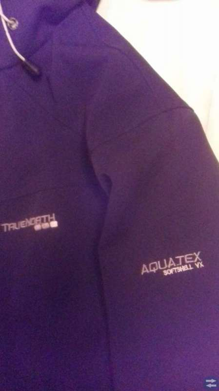 AQUATEX SOFTSHELL VX  SVART TRUE NORTH DAMJACKA