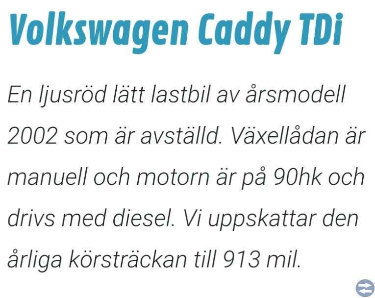 Vw Caddy Defekt
