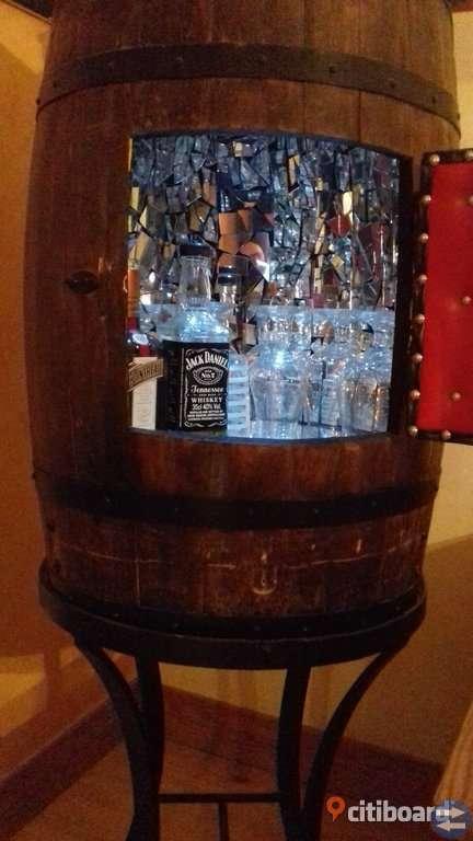 Barskåp/whisky-fat