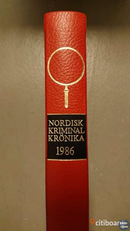 Nordisk kriminalkrönika 1976--1991 (14 st)