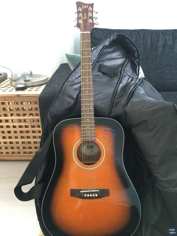 Akustisk gitarr Ltd X-tone