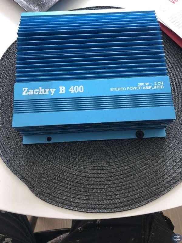 Slutsteg Zachry B 400