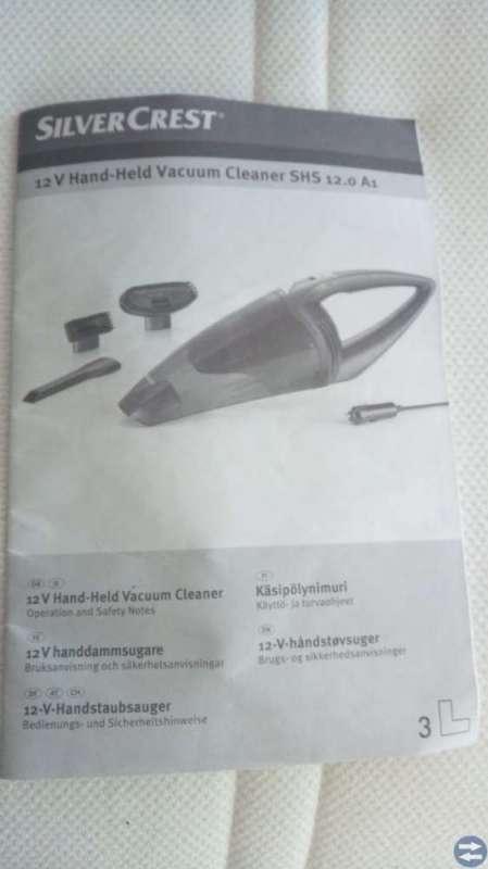 BIL HANDDAMMSUGARE 12V.
