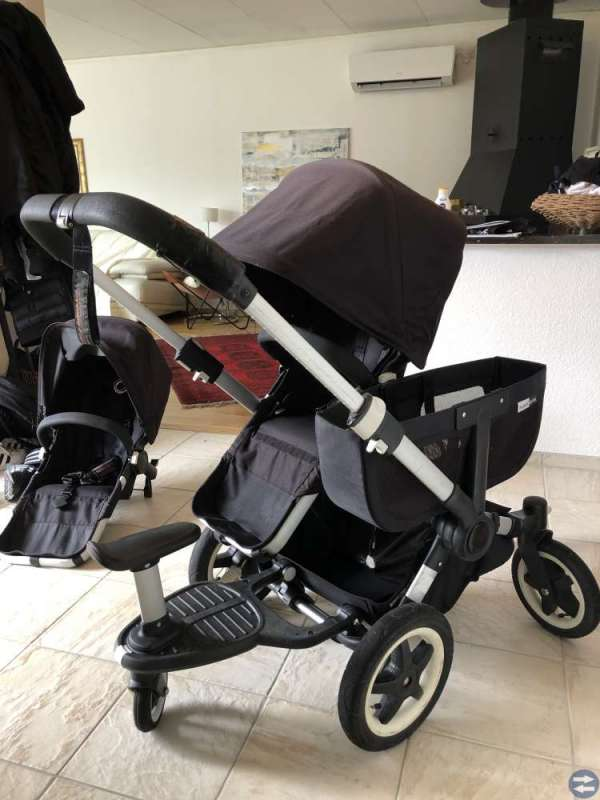 Bugaboo Donkey Duo Black 2015