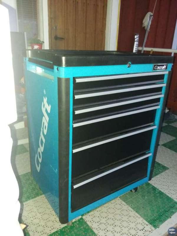 Cocraft verktygsvagn säljes