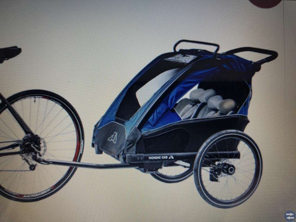 Nordic Cab cykel & joggingvagn